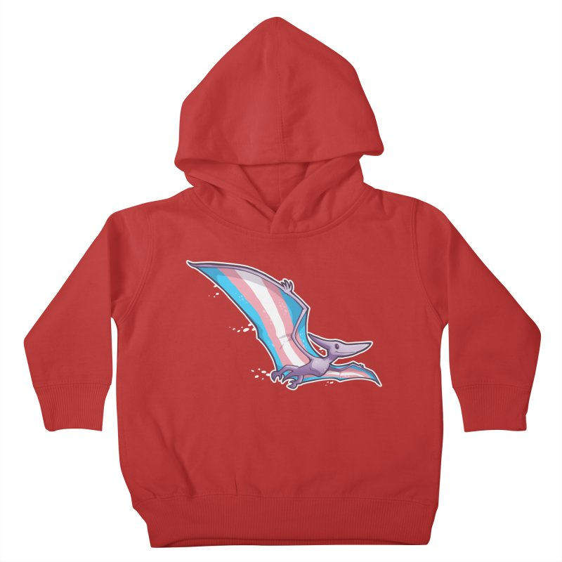 Transdactyl Kids Toddler Pullover Hoody by Marty's Artist Shop