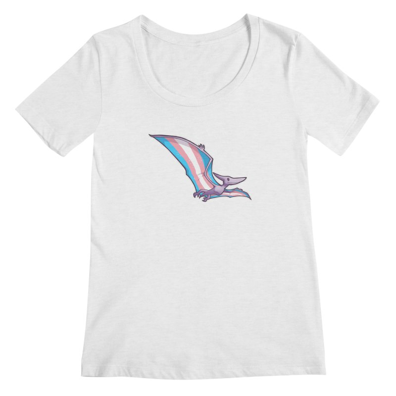Transdactyl Women's Regular Scoop Neck by Marty's Artist Shop