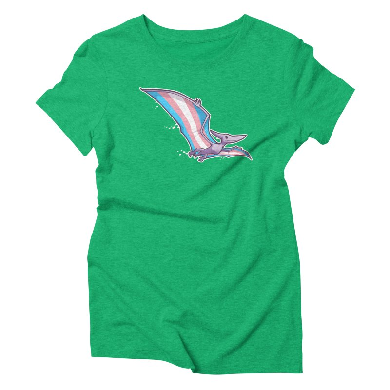 Transdactyl Women's Triblend T-Shirt by Marty's Artist Shop
