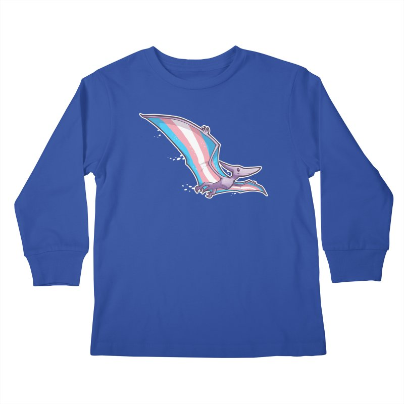 Transdactyl Kids Longsleeve T-Shirt by Marty's Artist Shop