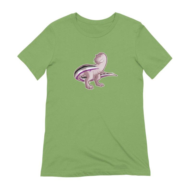 TyrannACEsaurus Women's Extra Soft T-Shirt by Marty's Artist Shop