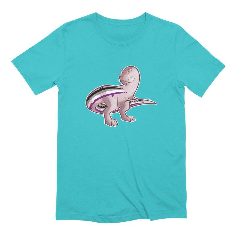 TyrannACEsaurus Men's Extra Soft T-Shirt by Marty's Artist Shop