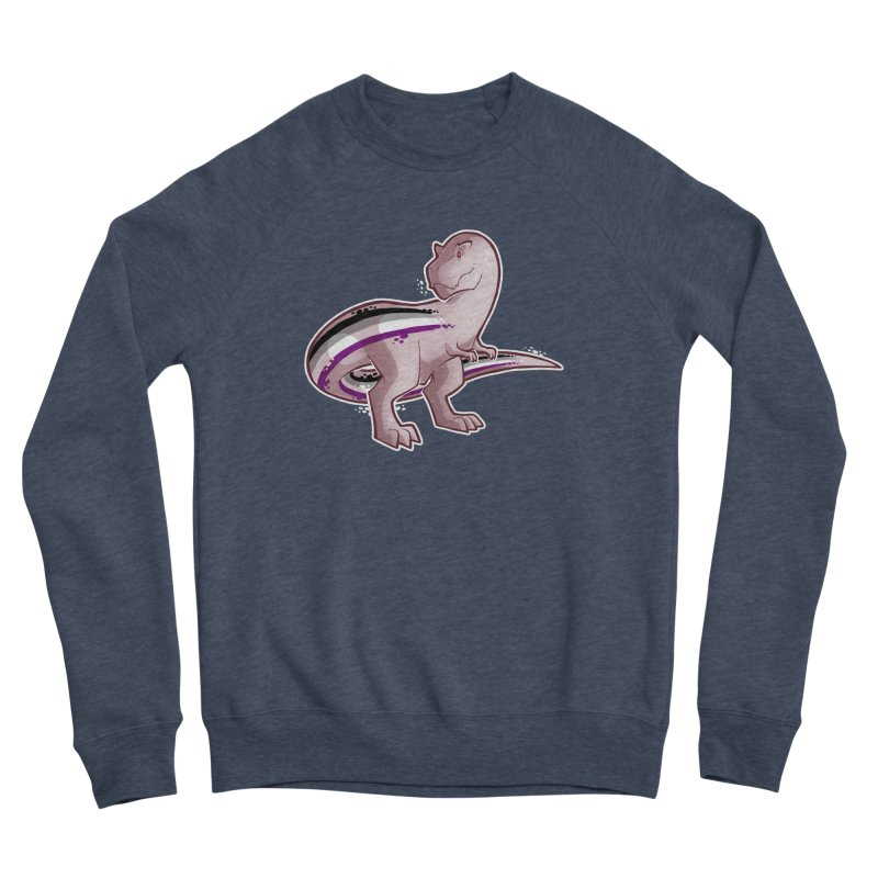 TyrannACEsaurus Men's Sponge Fleece Sweatshirt by Marty's Artist Shop