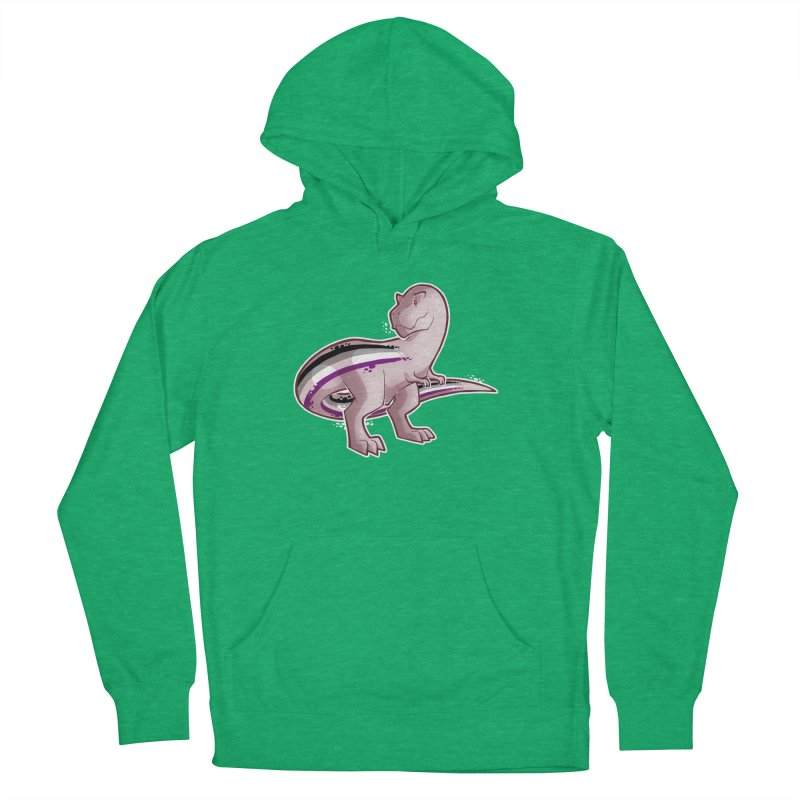 TyrannACEsaurus Men's French Terry Pullover Hoody by Marty's Artist Shop
