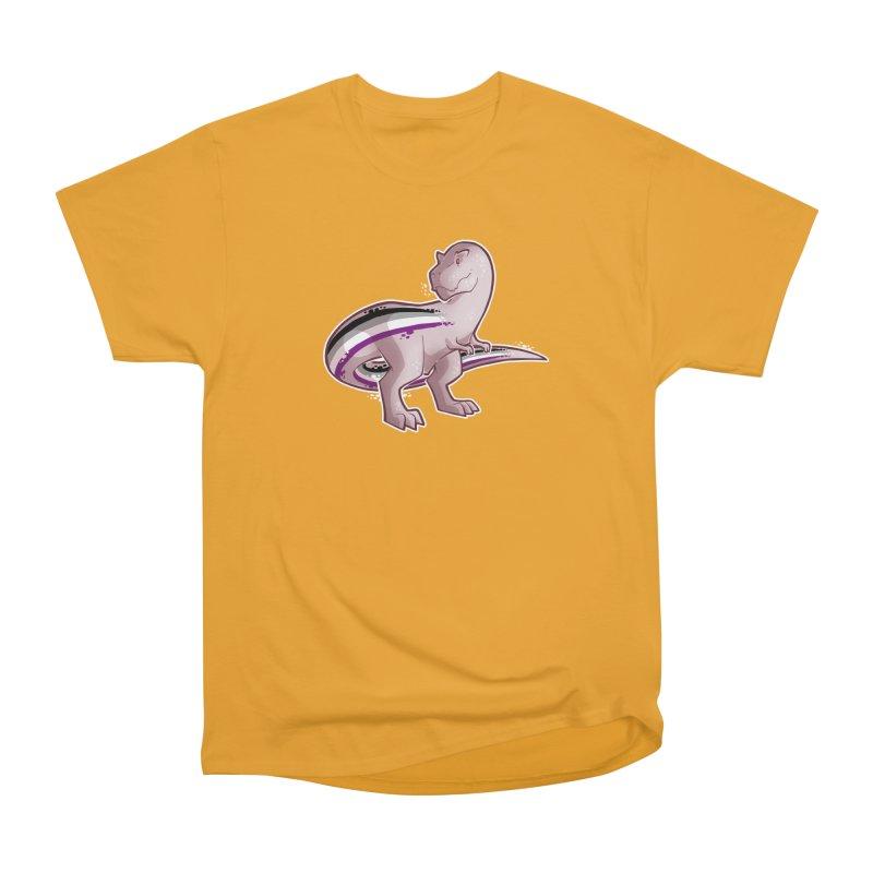 TyrannACEsaurus Men's Heavyweight T-Shirt by Marty's Artist Shop