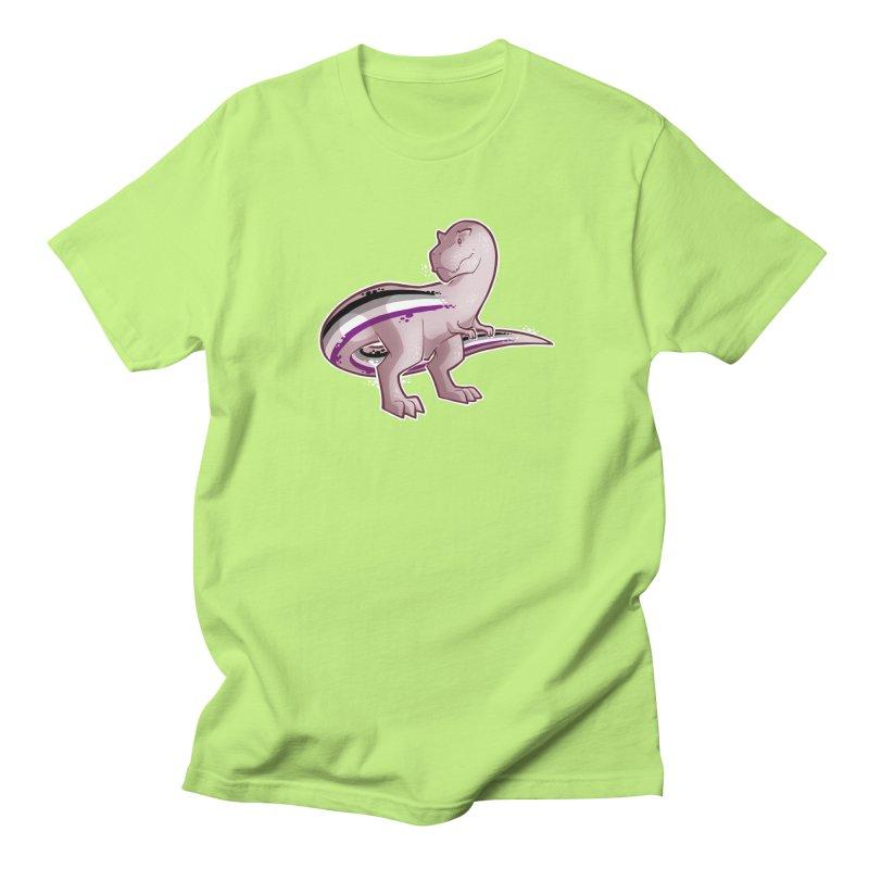TyrannACEsaurus Men's Regular T-Shirt by Marty's Artist Shop