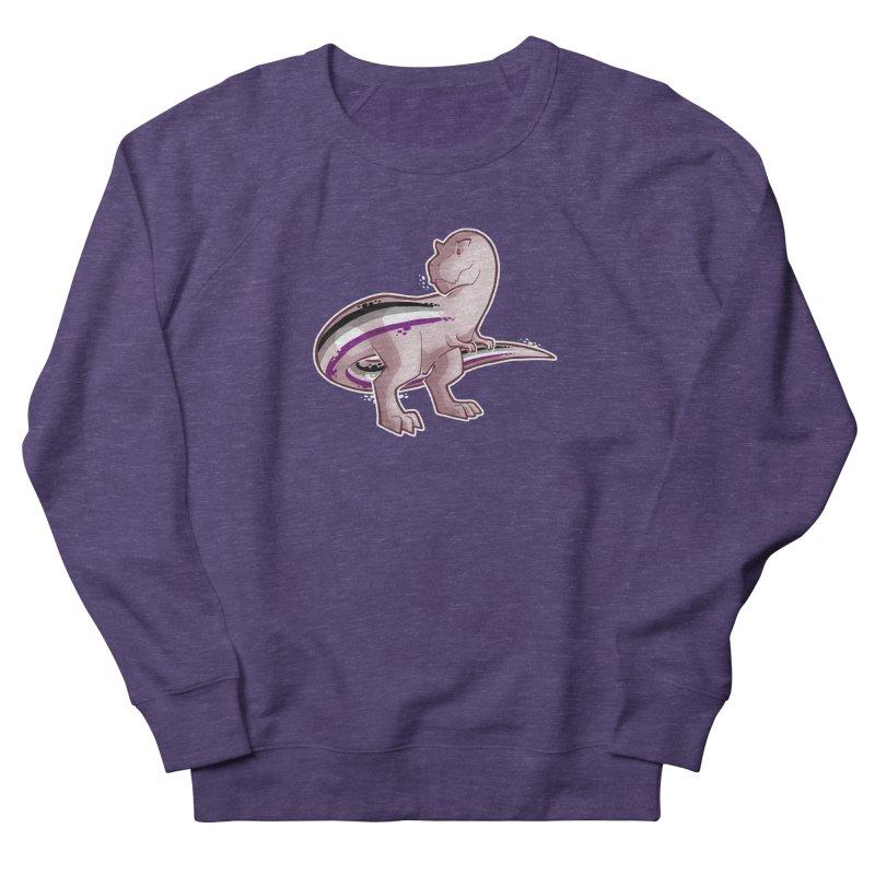 TyrannACEsaurus Men's French Terry Sweatshirt by Marty's Artist Shop