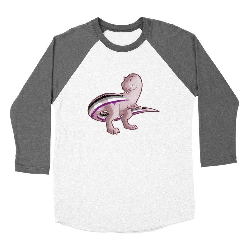 TyrannACEsaurus Women's Baseball Triblend Longsleeve T-Shirt by Marty's Artist Shop