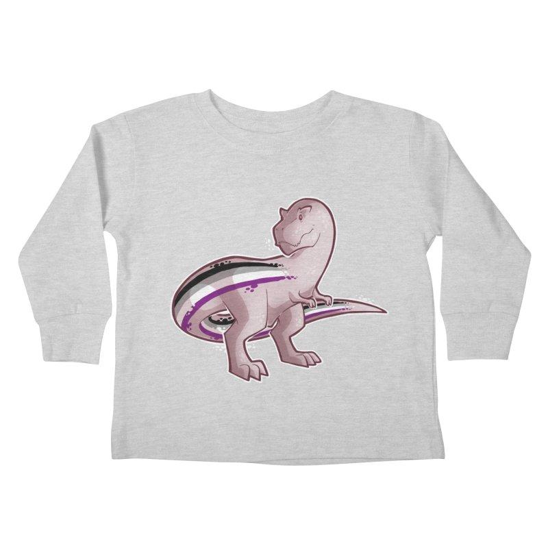 TyrannACEsaurus Kids Toddler Longsleeve T-Shirt by Marty's Artist Shop