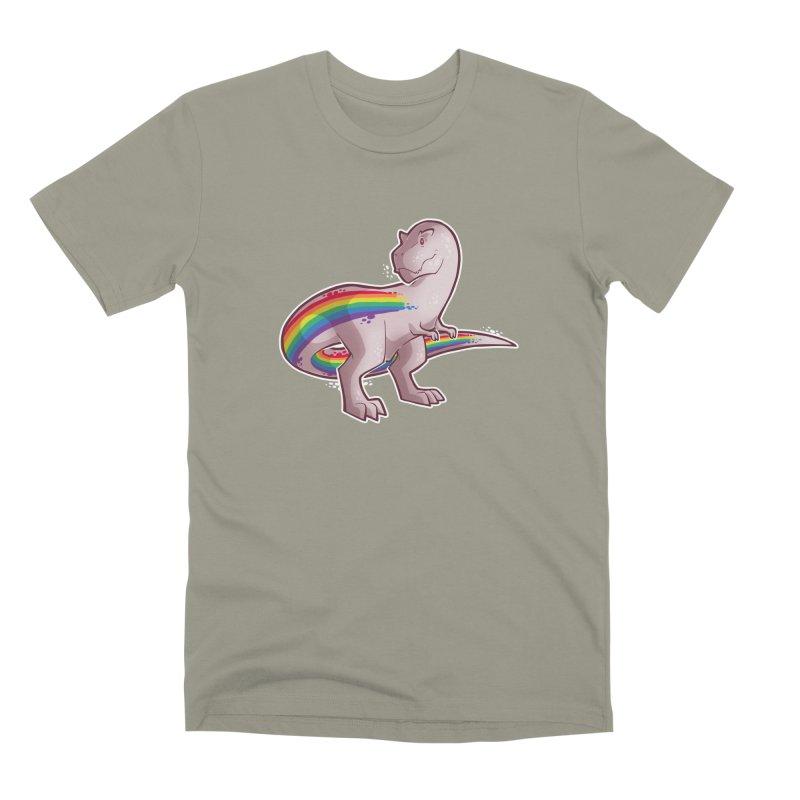 Priderannosaurus Men's Premium T-Shirt by Marty's Artist Shop