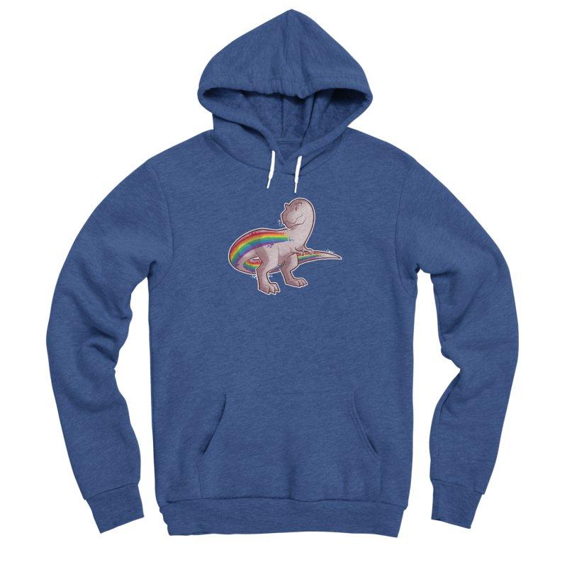 Priderannosaurus Men's Pullover Hoody by Marty's Artist Shop