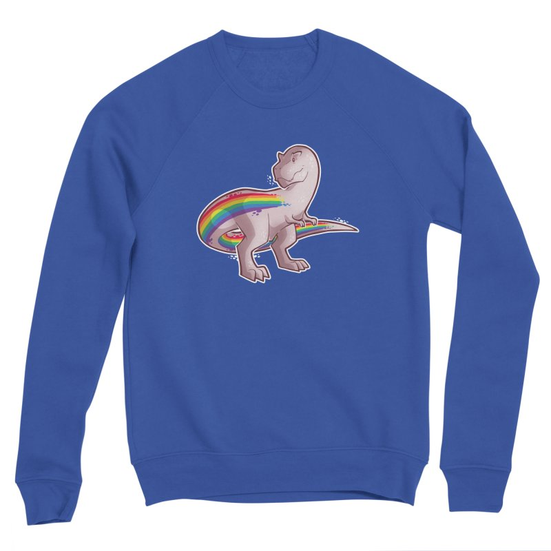 Priderannosaurus Men's Sweatshirt by Marty's Artist Shop