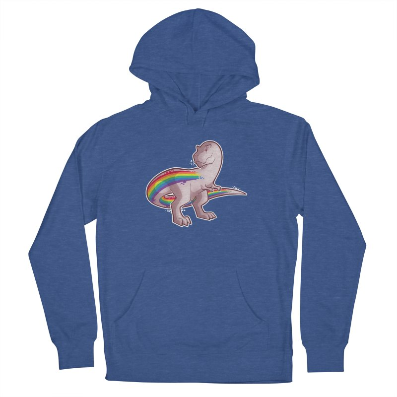 Priderannosaurus Women's French Terry Pullover Hoody by Marty's Artist Shop