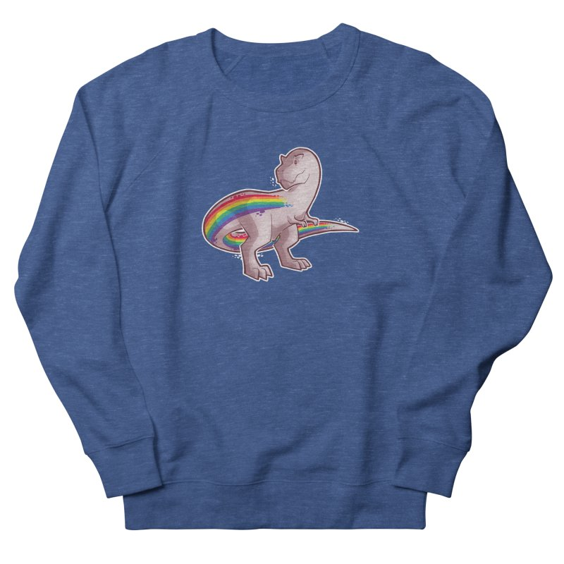 Priderannosaurus Women's French Terry Sweatshirt by Marty's Artist Shop