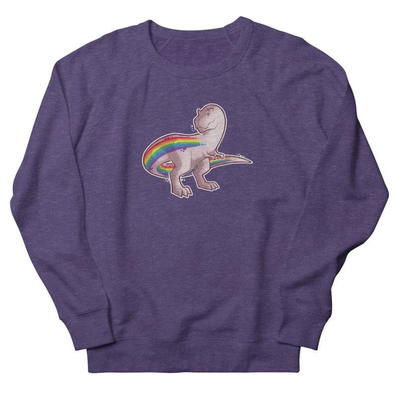 Priderannosaurus Women's French Terry Sweatshirt by Marty's Artist Shop