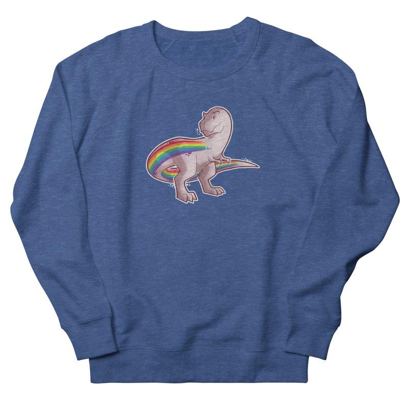 Priderannosaurus Men's Sweatshirt by Marty's Artist Shop