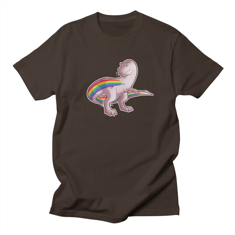 Priderannosaurus Men's T-Shirt by Marty's Artist Shop