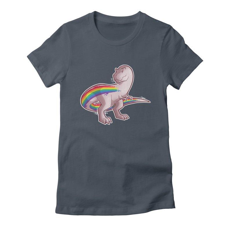 Priderannosaurus Women's T-Shirt by Marty's Artist Shop