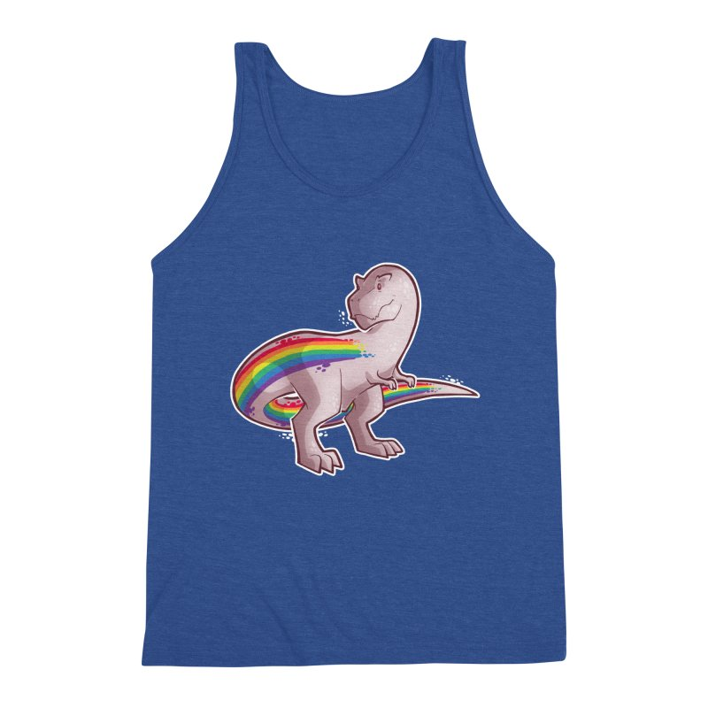 Priderannosaurus Men's Tank by Marty's Artist Shop