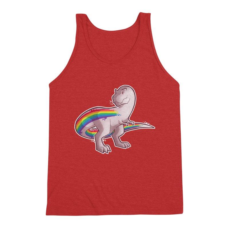 Priderannosaurus Men's Tank by Marty's Artist Shop