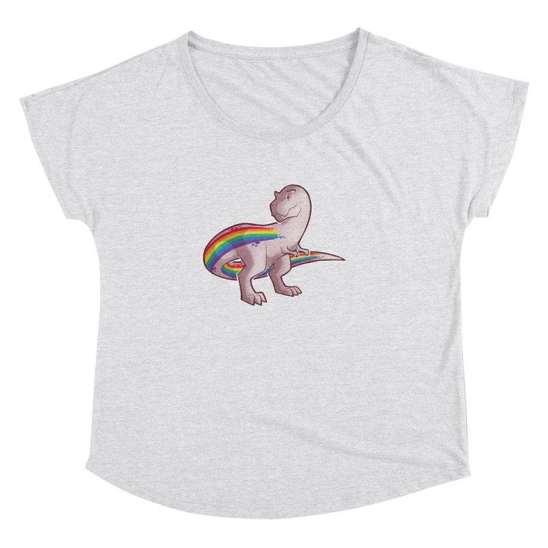 Priderannosaurus Women's Dolman Scoop Neck by Marty's Artist Shop