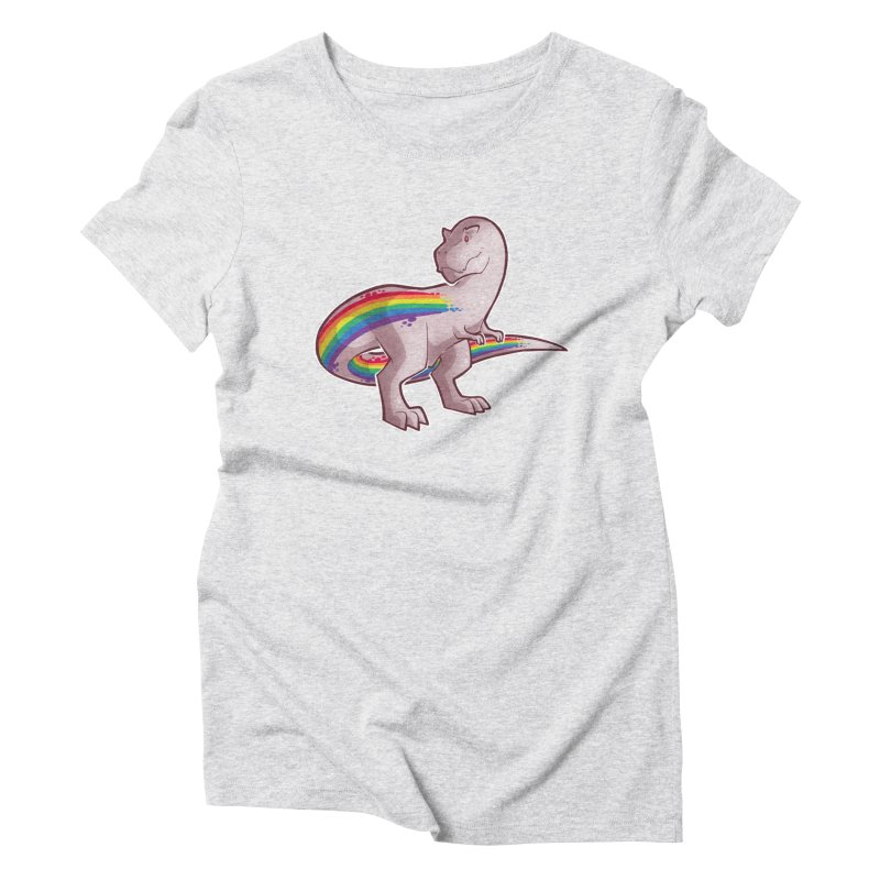 Priderannosaurus Women's T-Shirt by Marty's Artist Shop