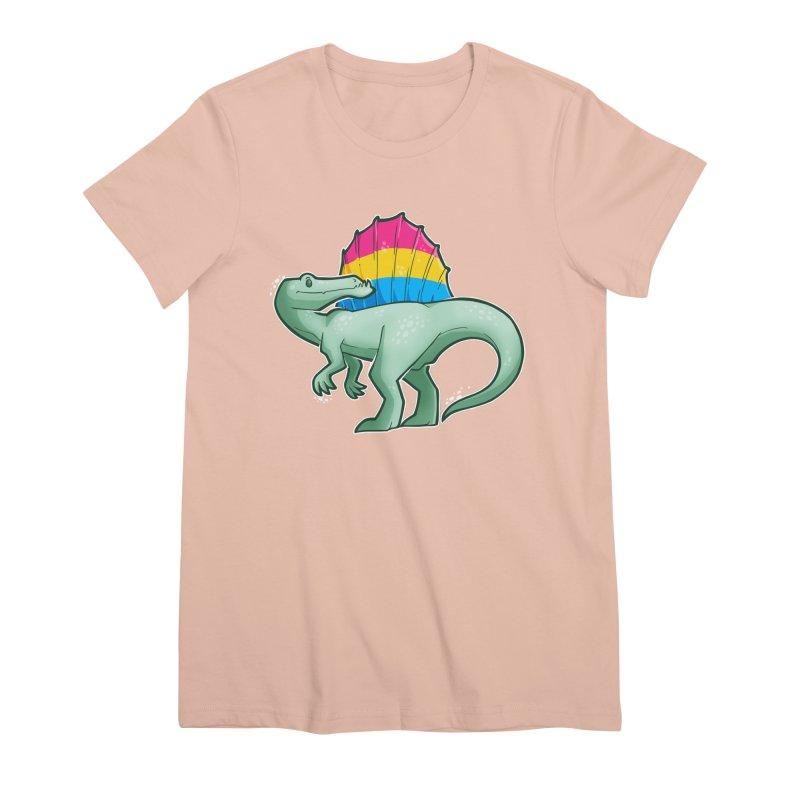 sPANosaurus Women's Premium T-Shirt by Marty's Artist Shop
