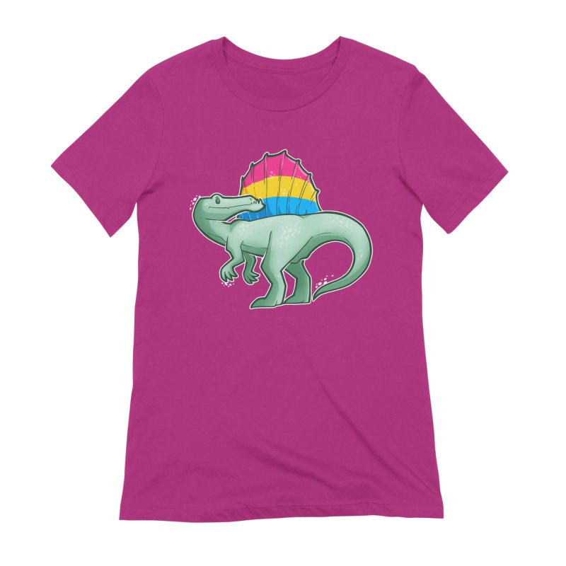 sPANosaurus Women's Extra Soft T-Shirt by Marty's Artist Shop