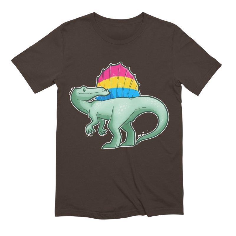 sPANosaurus Men's Extra Soft T-Shirt by Marty's Artist Shop