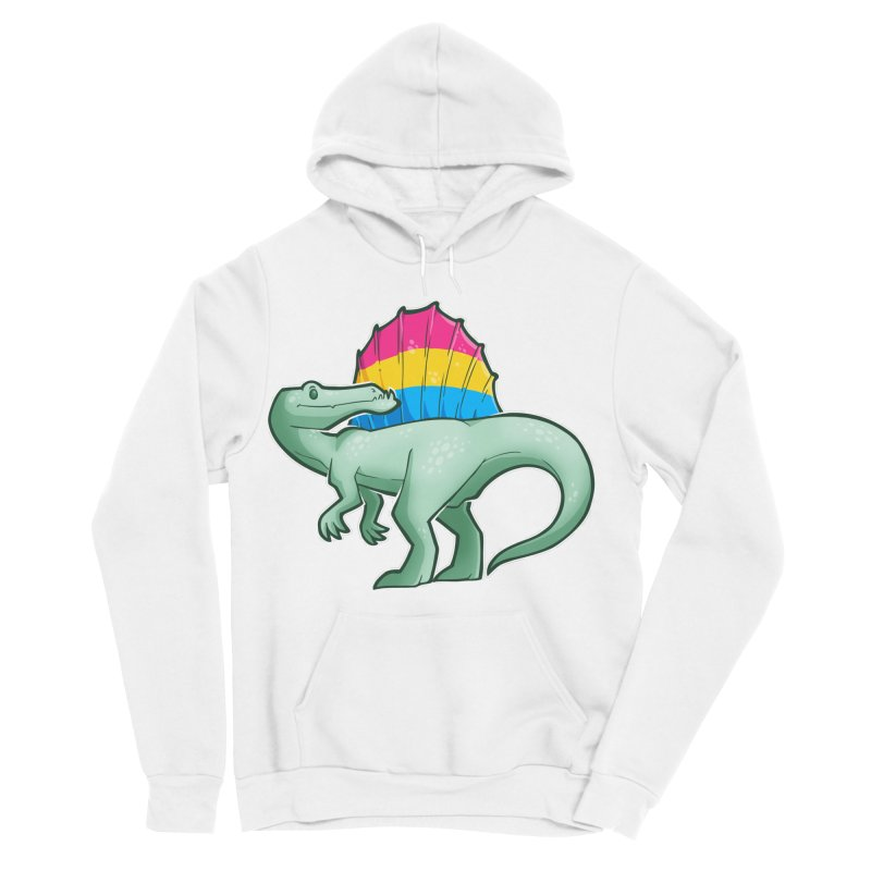 sPANosaurus Women's Sponge Fleece Pullover Hoody by Marty's Artist Shop