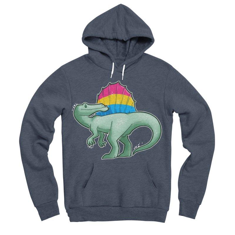 sPANosaurus Men's Sponge Fleece Pullover Hoody by Marty's Artist Shop