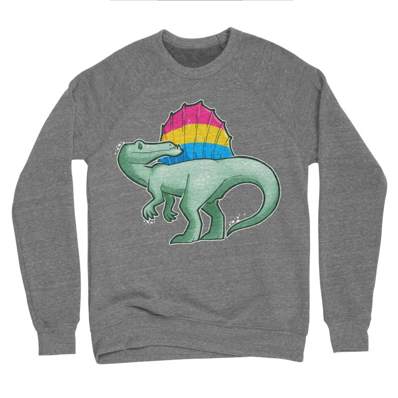 sPANosaurus Men's Sponge Fleece Sweatshirt by Marty's Artist Shop
