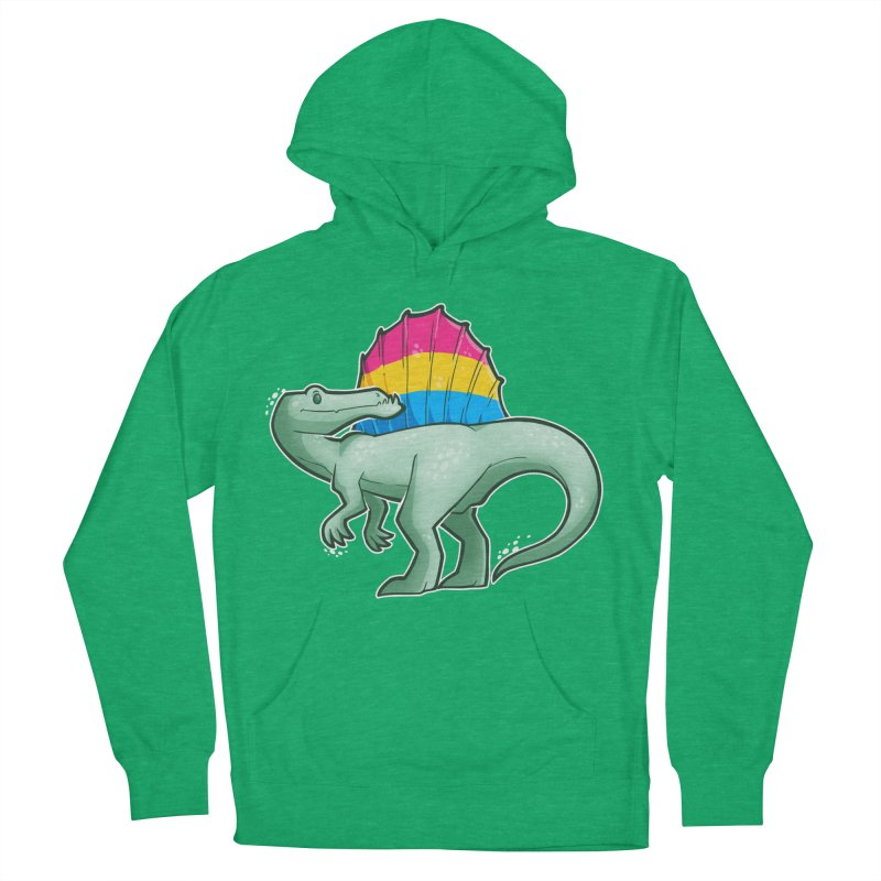 sPANosaurus Women's French Terry Pullover Hoody by Marty's Artist Shop