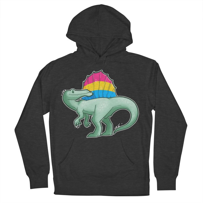 sPANosaurus Men's French Terry Pullover Hoody by Marty's Artist Shop