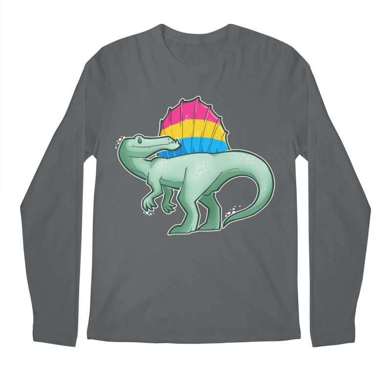 sPANosaurus Men's Longsleeve T-Shirt by Marty's Artist Shop