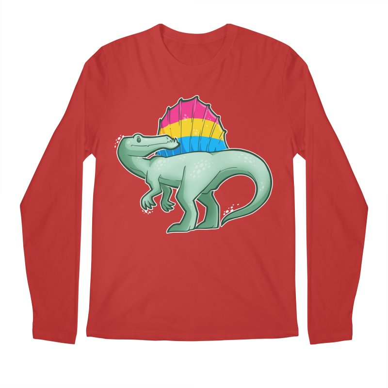 sPANosaurus Men's Regular Longsleeve T-Shirt by Marty's Artist Shop