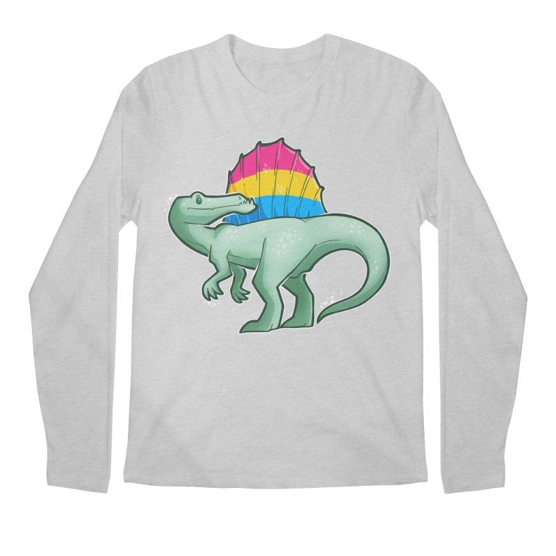 sPANosaurus Men's Regular Longsleeve T-Shirt by Marty's Artist Shop