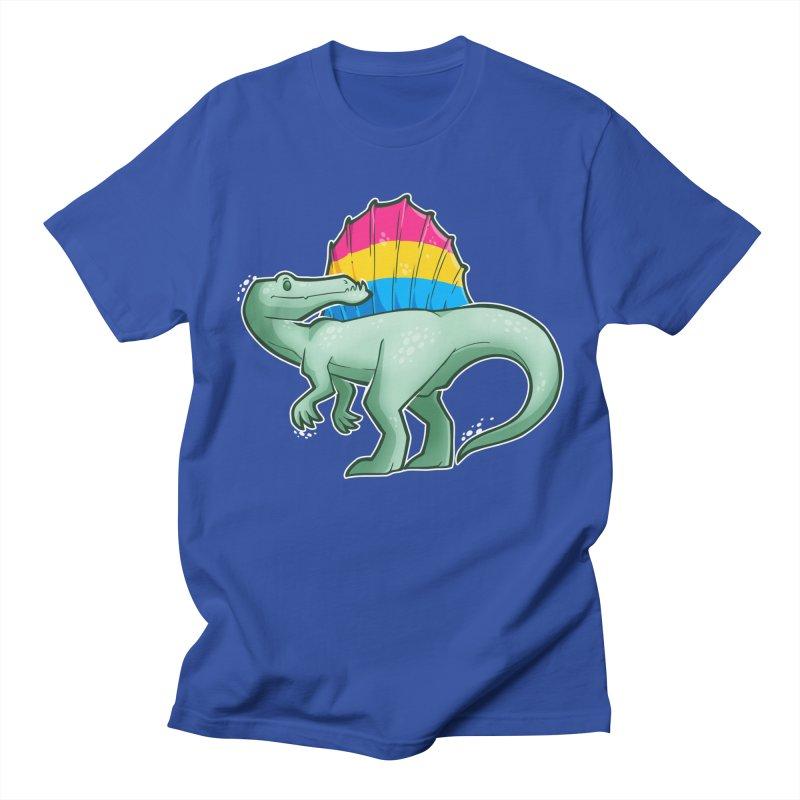 sPANosaurus Men's T-Shirt by Marty's Artist Shop