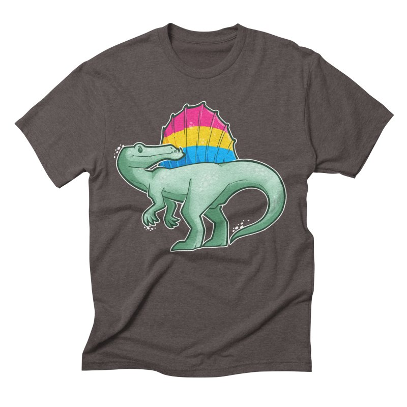 sPANosaurus Men's Triblend T-Shirt by Marty's Artist Shop