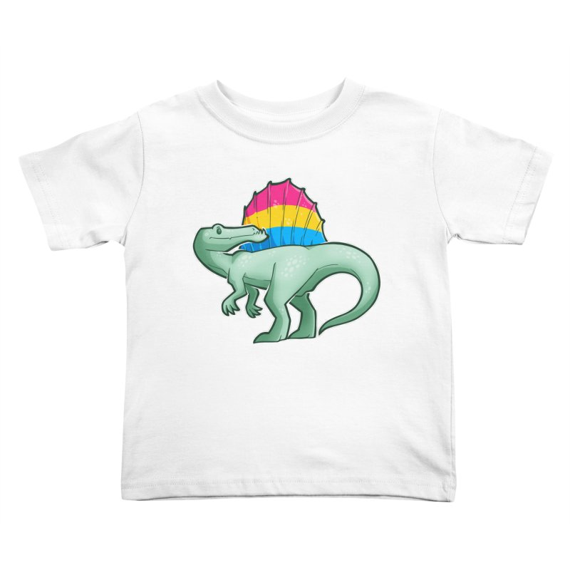 sPANosaurus Kids Toddler T-Shirt by Marty's Artist Shop