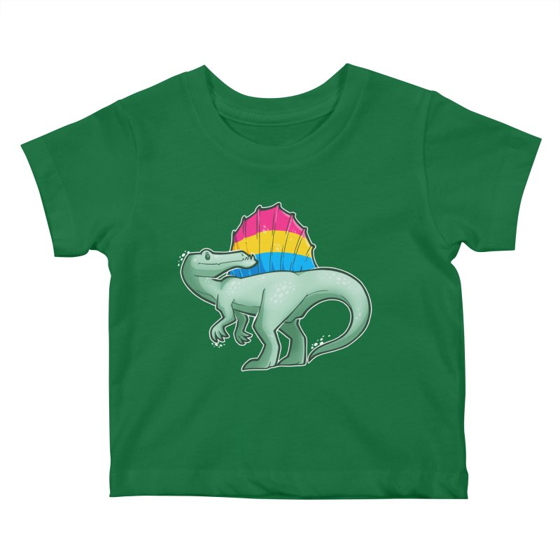 sPANosaurus Kids Baby T-Shirt by Marty's Artist Shop