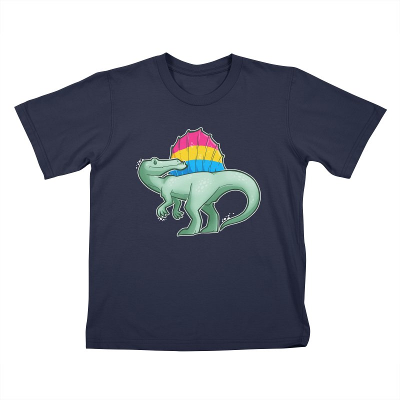 sPANosaurus Kids T-Shirt by Marty's Artist Shop