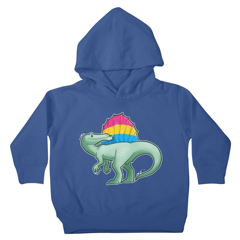 sPANosaurus Kids Toddler Pullover Hoody by Marty's Artist Shop