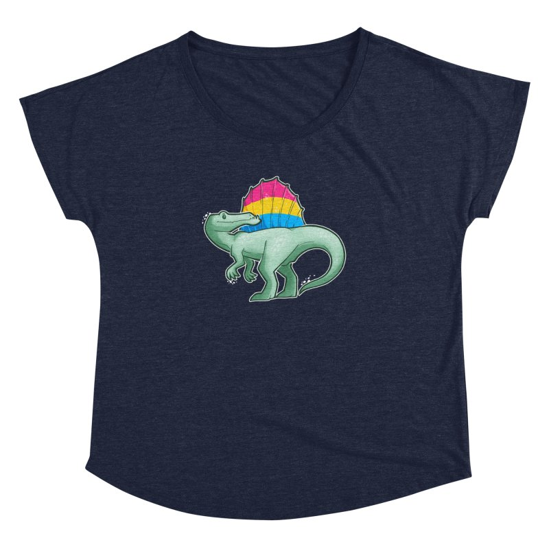 sPANosaurus Women's Dolman Scoop Neck by Marty's Artist Shop