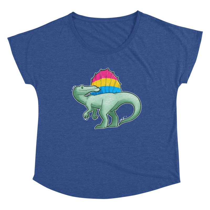 sPANosaurus Women's Scoop Neck by Marty's Artist Shop