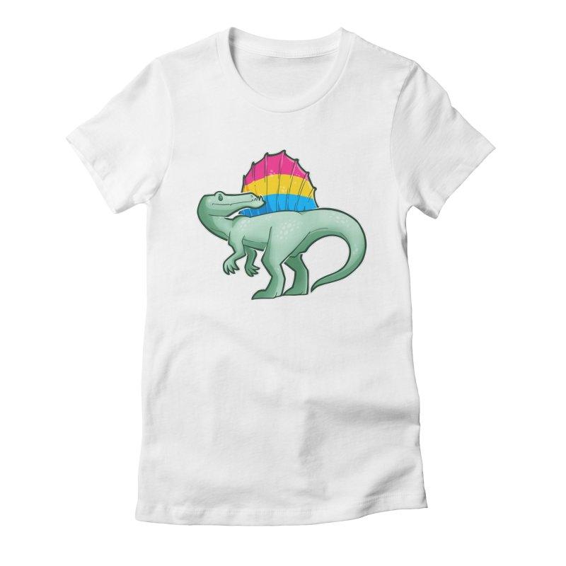 sPANosaurus Women's T-Shirt by Marty's Artist Shop