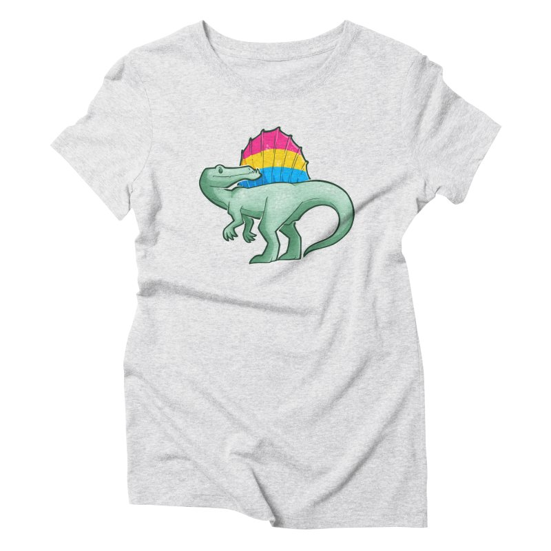 sPANosaurus Women's T-Shirt by Marty's Artist Shop