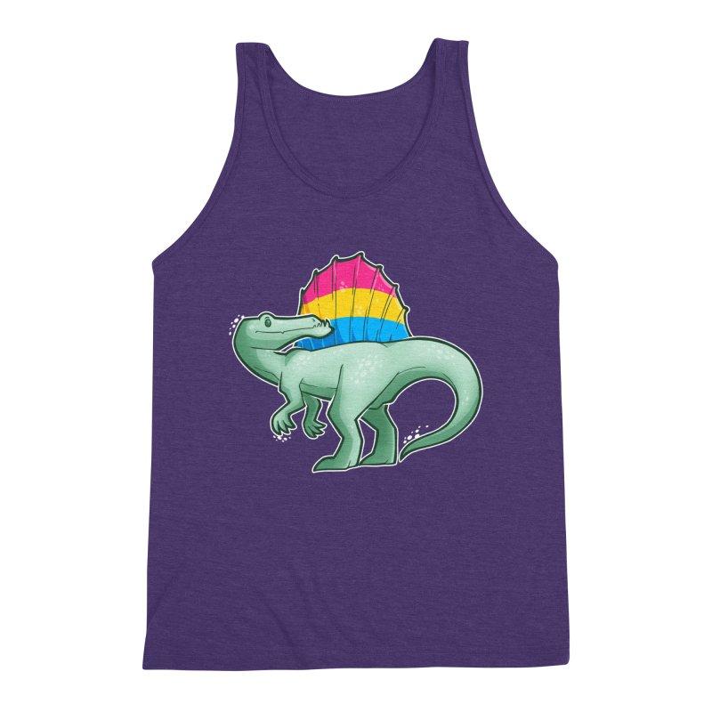 sPANosaurus Men's Triblend Tank by Marty's Artist Shop