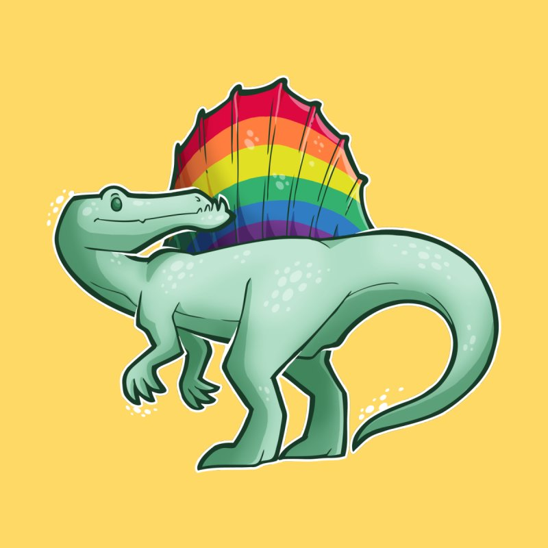 Spinosaurus Pride by Marty's Artist Shop