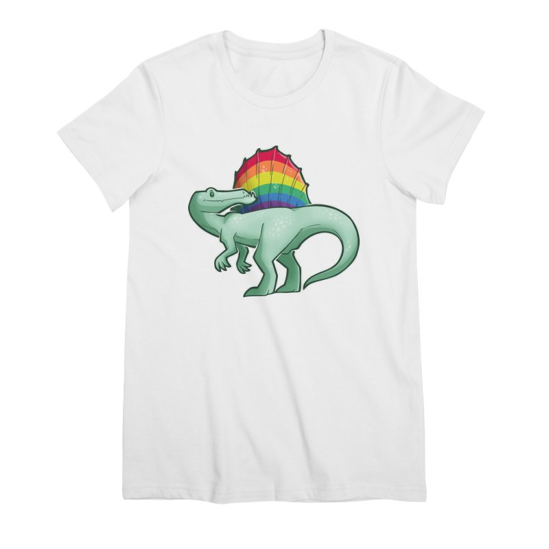 Spinosaurus Pride Women's Premium T-Shirt by Marty's Artist Shop